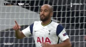 Résumé Tottenham 3-0 LASK. Dugout