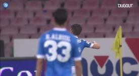 Mertens tem 311 partidas, 122 gols marcados e 73 assistências com o Napoli. DUGOUT