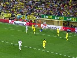 La prima rete di Bale con il Real Madrid. Dugout