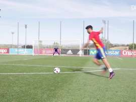 Duelo de chute a gol na Seleção Espanhola Sub-21. DUGOUT
