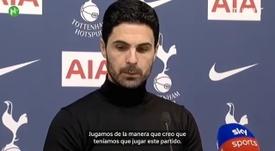 El técnico del Arsenal se queda con la parte positiva. DUGOUT