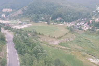 F Shkëndija pre season training camp in Mavrovo. DUGOUT