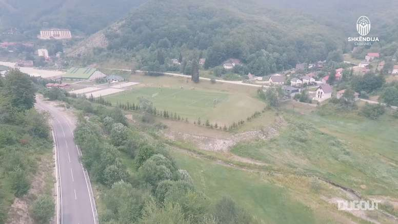 F Shkëndija pre season training camp in Mavrovo. DUGOUT