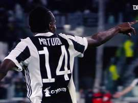 Blaise Matuidi had been at Juventus since 2017. DUGOUT