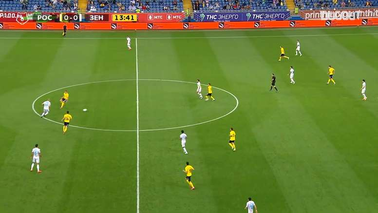 Zenit won 2-0. DUGOUT