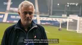 José Mourinho elogiou a participação de Carlos Vinícius contra o West Brom. DUGOUT