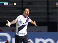 Cano segue na disputa entre os artilheiros do Campeonato Brasileiro 2020. DUGOUT