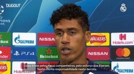 Varane falhou nos dois gols do Manchester City. DUGOUT