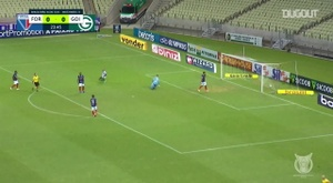 Goias had taken the lead in their Brasileirao match with Fortaleza. DUGOUT
