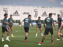 La Juventus si prepara al rientro in campo. Dugout