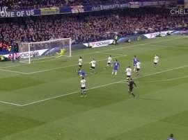 Chelsea e seus golaços sobre o Tottenham em Stamford Bridge. DUGOUT