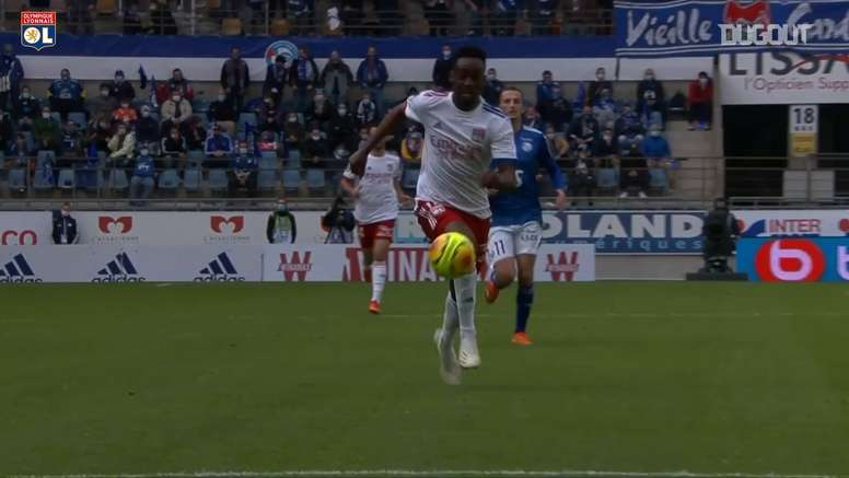 Memphis Depay was the star of the show for Lyon at Strasbourg. DUGOUT