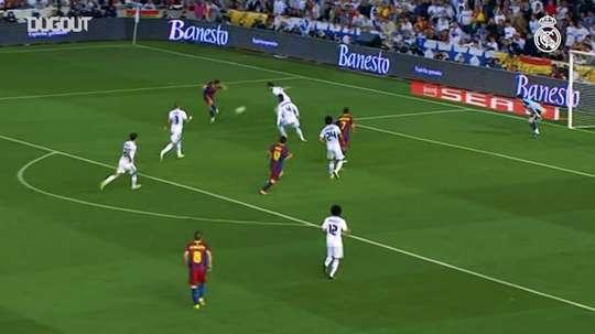 Cristiano Ronaldo was the difference in the 2011 Copa del Rey final. DUGOUT