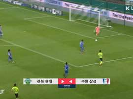 Jeonbuk came out on top in the 2020 K League opener. DUGOUT