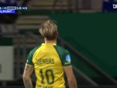 Fortuna Sittard got an easy 3-0 win over Heracles in the Eredivisie. DUGOUT