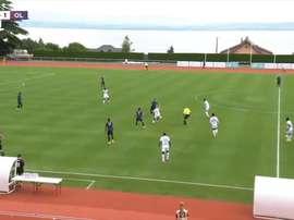 Lyon won 12-0 in a friendly. DUGOUT