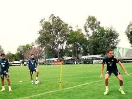 Club América's dizzy penalty challenge. DUGOUT