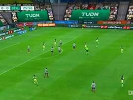 Dos Santos hizo un golazo frente a Chivas. DUGOUT