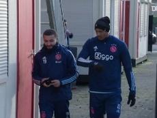 Il primo allenamento di Haller con l'Ajax. Dugout
