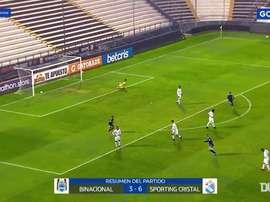 Emanuel Herrera's hat-trick against Binacional. DUGOUT