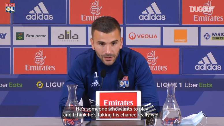 Lopes spoke ahead of the derby. DUGOUT