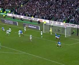 Le but de la victoire de Katic contre le Celtic. Dugout
