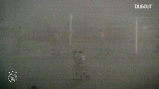 Cruyff starred v Liverpool. DUGOUT