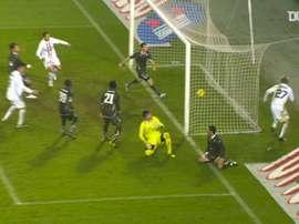 Milos Krasic gave Juventus a late winner for Juventus against Lazio in 2010. DUGOUT