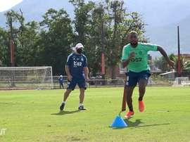 Flamengo retornou aos treinos mesmo sem a recomendação das autoridades de saúde. DUGOUT