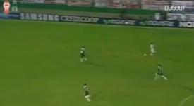 Javier Pastore scored twice in the win over Lanus. DUGOUT