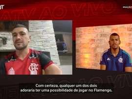Arrascaeta diz que convidará Cavani para o Flamengo. DUGOUT