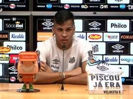 Kaio Jorge falou sobre a primeira partida com Cuca no comando técnico. DUGOUT