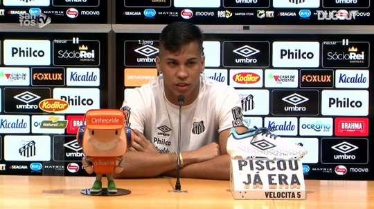 Kaio Jorge sobre a primeira partida com Cuca no comando técnico. DUGOUT