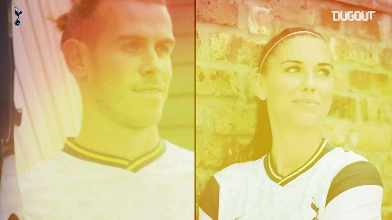 Las llegadas de Alex Morgan y Gareth Bale al Tottenham. Captura/DUGOUT