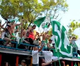 VIDEO: Atlético Nacional's impressive fanbase. DUGOUT