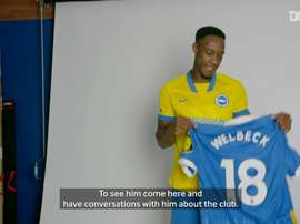 Welbeck has signed for Brighton. DUGOUT