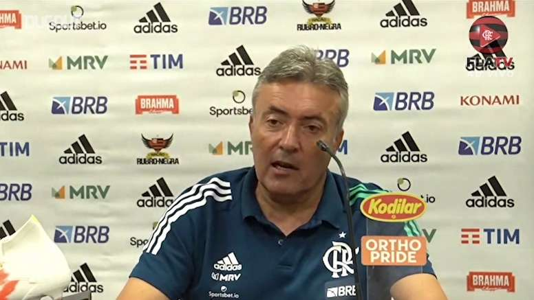 Domènec Torrent não vê o Flamengo com a sua cara. DUGOUT