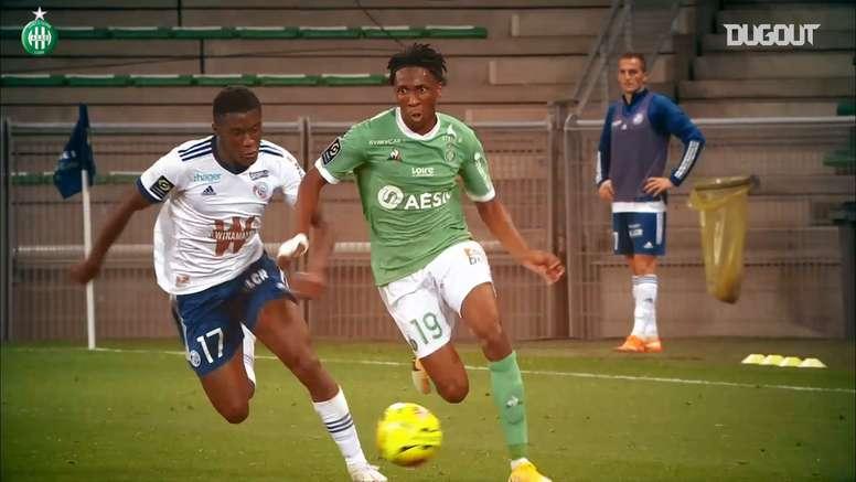 VIDÉO: Les superbes débuts d'Yvan Neyou en Ligue 1. Dugout