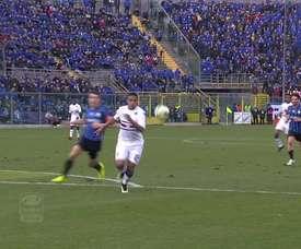 Luis Muriel scored a brilliant goal for Sampdoria v Atalanta back in 2015. DUGOUT