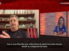 Presidente do Flamengo falou sobre a visita feita ao Barcelona. DUGOUT
