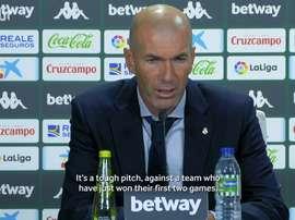 Zidane speaks after his 100th La Liga win. DUGOUT
