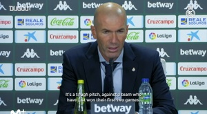 Zidane speaks after his 100th La Liga win. DUGOUT