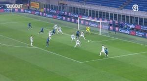 L'Inter vince il derby d'Italia. Dugout