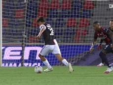 Paulo Dybala scored a superb goal for Juventus at Bologna. DUGOUT