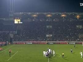 La victoire du PSG à Bordeaux en 2005. DUGOUT