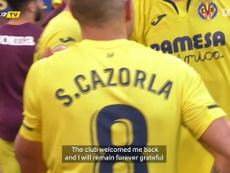 Cazorla explains his decision to leave European football. DUGOUT