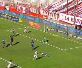 Aquel gol de Pussetto ante Boca. DUGOUT