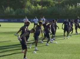 Mbappé recupera per l'Atalanta. Dugout