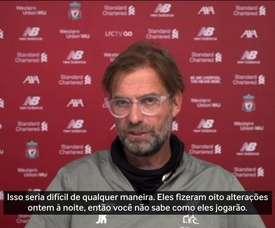 Liverpool enfrenta o Crystal Palace nesta quarta-feira. DUGOUT