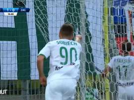 Artur Sobiech's top three goals in the Ekstraklasa. DUGOUT